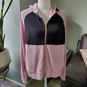 PINK Victoria's Secret Full Zip hoodie siz…